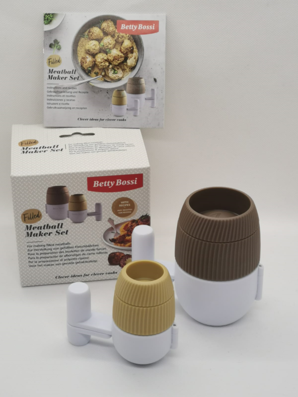 Betty Bossi Filled Meatball Maker Set